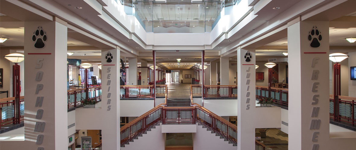 Student Union Building Atrium
